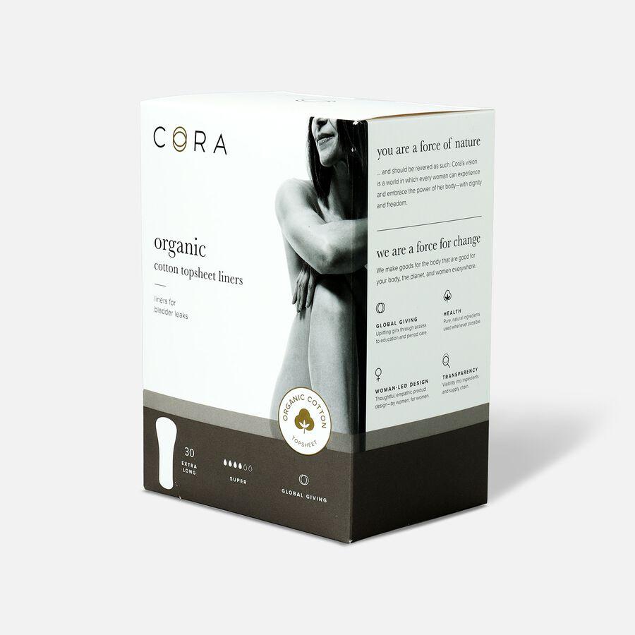 Cora Organic Cotton Bladder Liners, Super, 30ct, , large image number 2