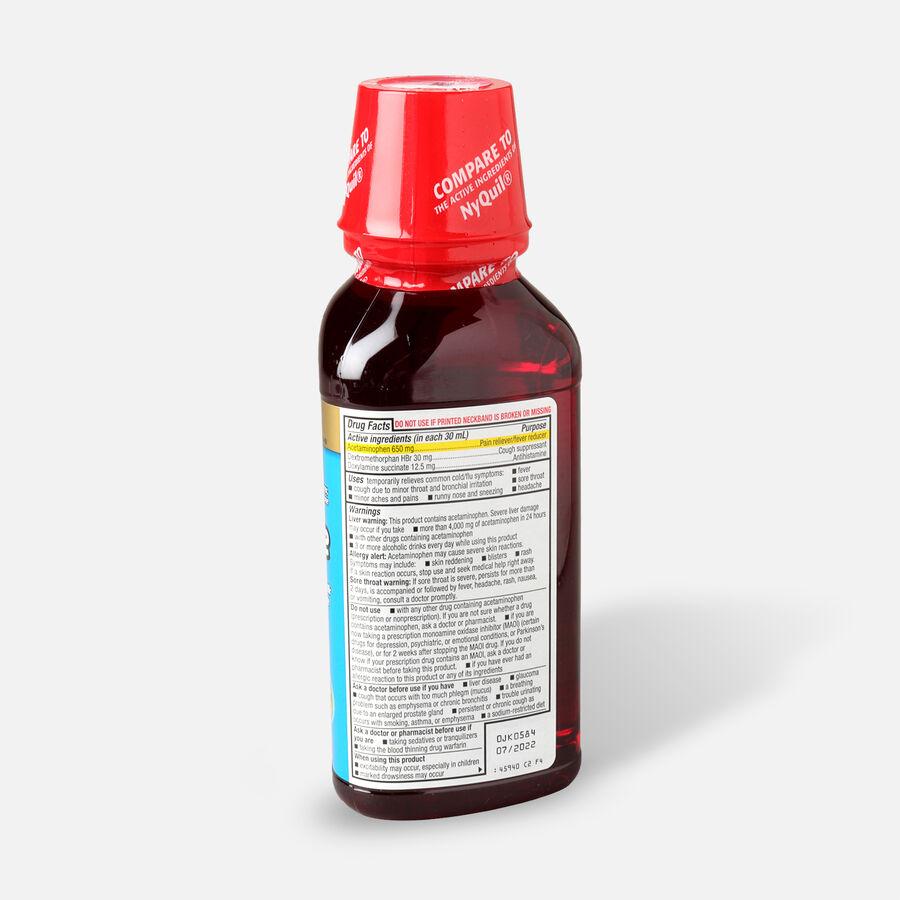 GoodSense® Night Time Cold & Flu Multi Symptom Cherry, 12 fl oz, , large image number 1