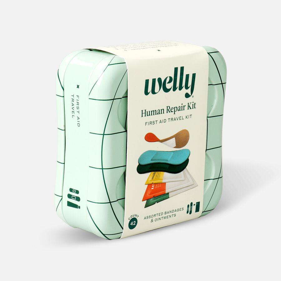 Welly Human Repair First Aid Travel Kit - 42ct, , large image number 2