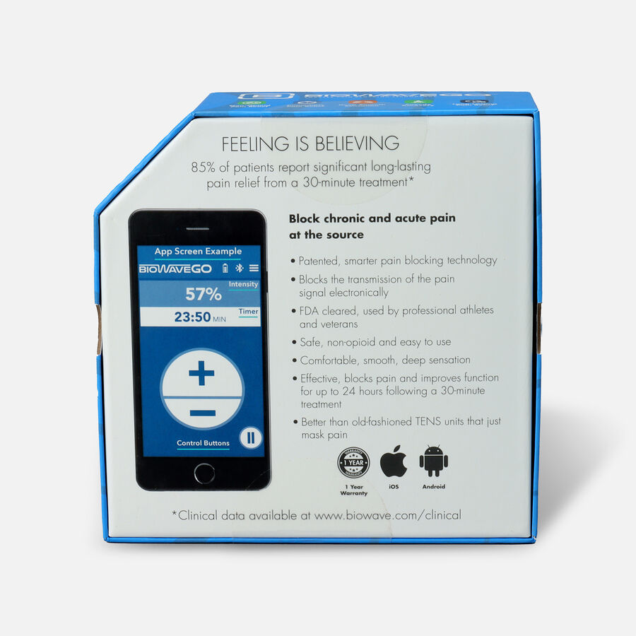 BioWaveGO Wearable Chronic Pain Relief Technology, , large image number 2