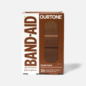 Band-Aid Ourtone Assorted Adhesive Bandages - BR55 - 30ct