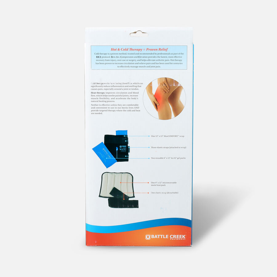 Battle Creek Knee Pain Kit with Moist Heat and Cold Therapy, , large image number 1