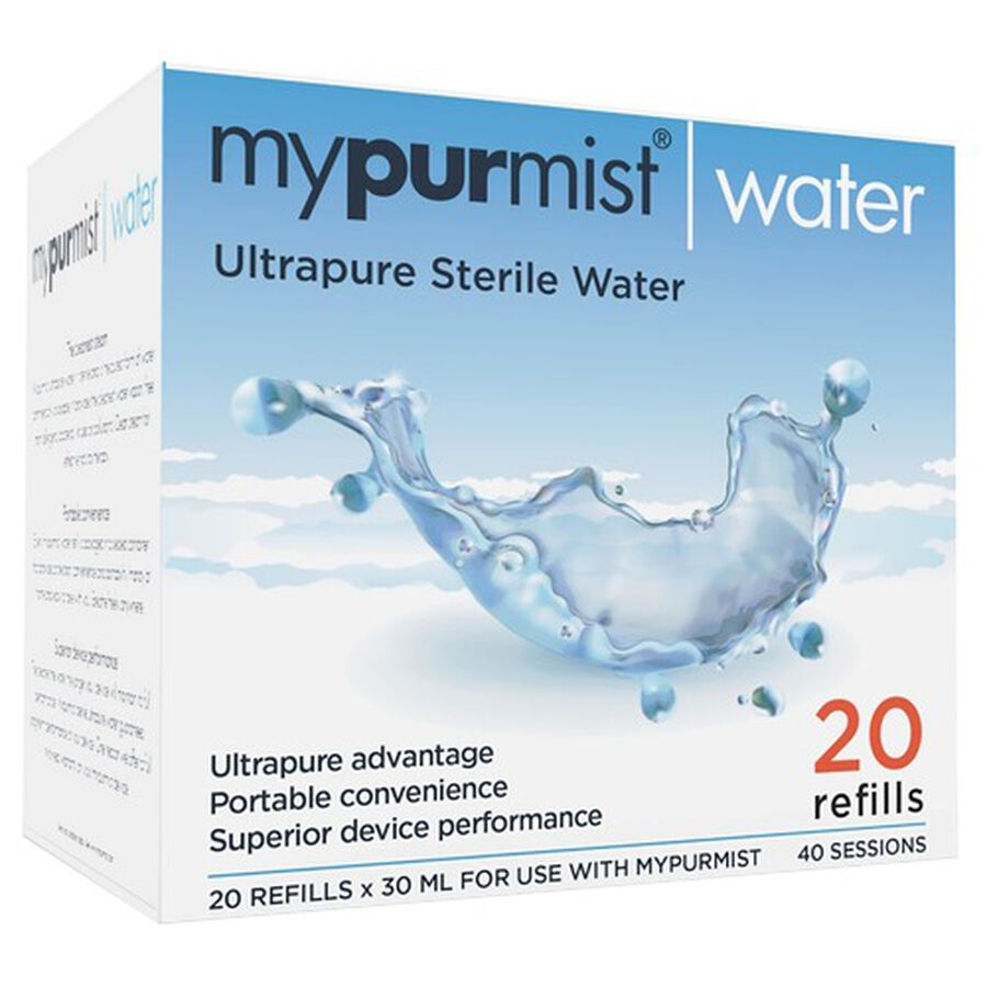 MyPurMist Ultrapure Sterile Water - 20 refills 30ml, , large image number 2