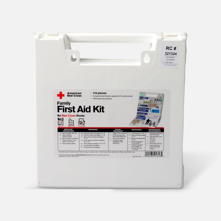 American Red Cross Family Bulk First Aid Kit, 114ct, , large image number 2