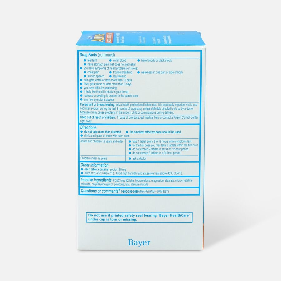 Aleve Back & Muscle Pain, 200ct, , large image number 1