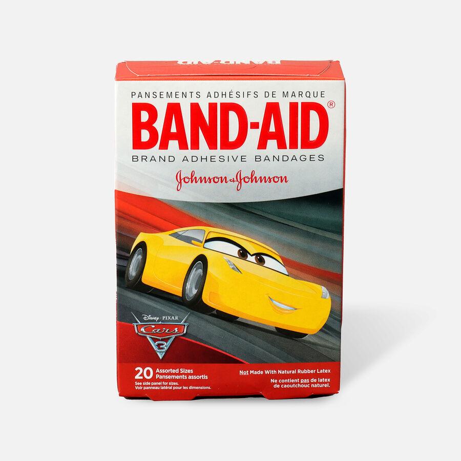 Band-Aid Adhesive Bandages, Disney/Pixar Cars 3, 20 ct., , large image number 0