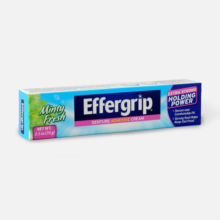 Effergrip Denture Adhesive Cream Minty Fresh, 2.5oz, , large image number 2