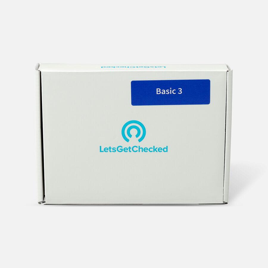 LetsGetChecked Basic 3 STD At Home Test, , large image number 0