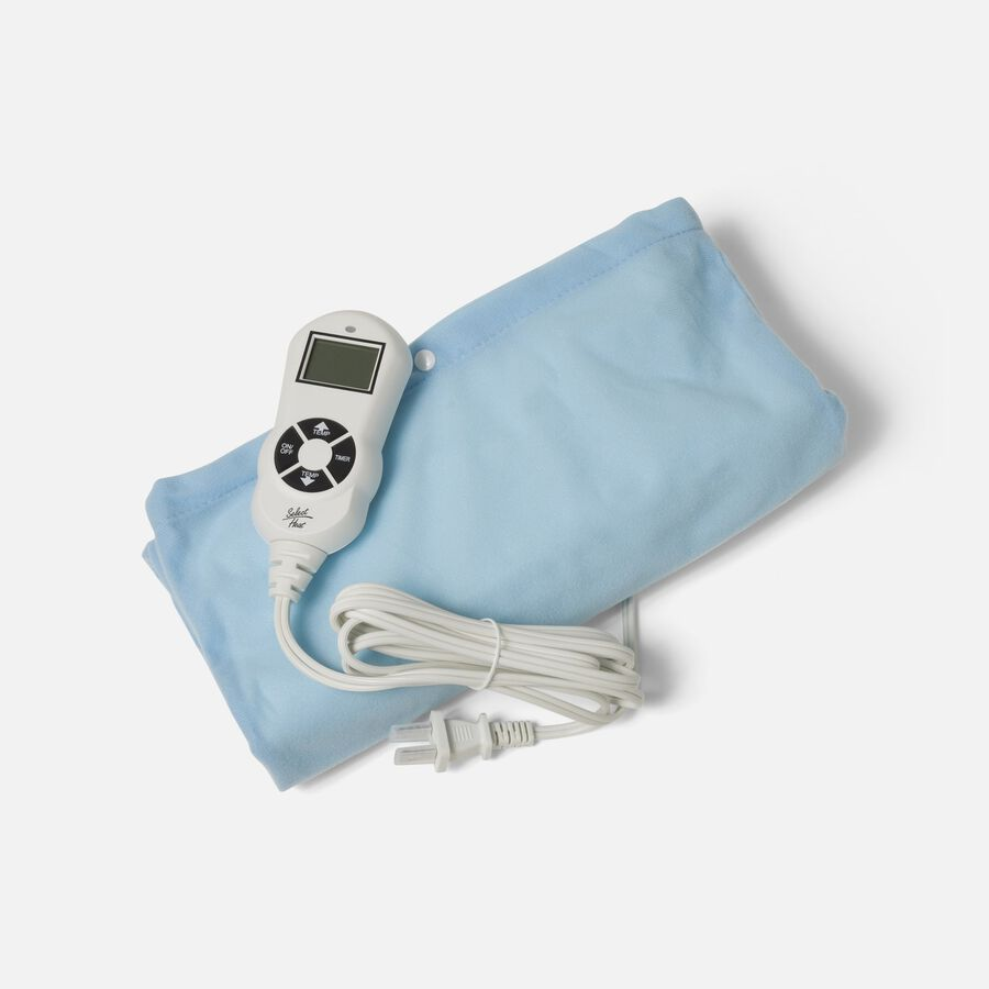 """Caring Mill® LCD Moist/ Dry Heating Pad King Size 12"""" x 24"""", , large image number 3"""