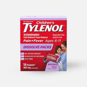 Tylenol Children's Pain and Fever Powder Packs, Berry Flavor