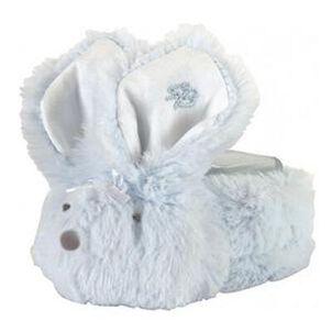 Boo-Bunnie Comfort Toy, Long Hair Blue