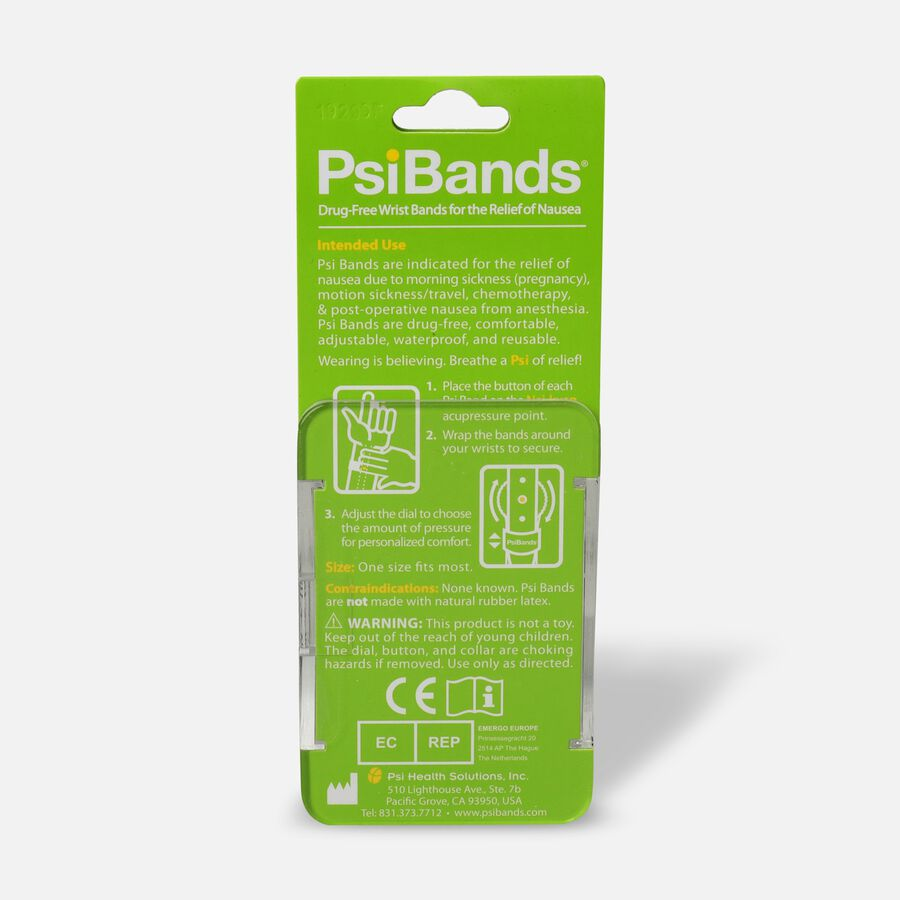 Psi Bands Nausea Relief Wrist Bands - Fast Track, , large image number 1