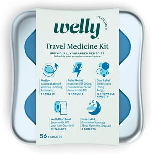 Welly Travel Medicine Kit - 42ct