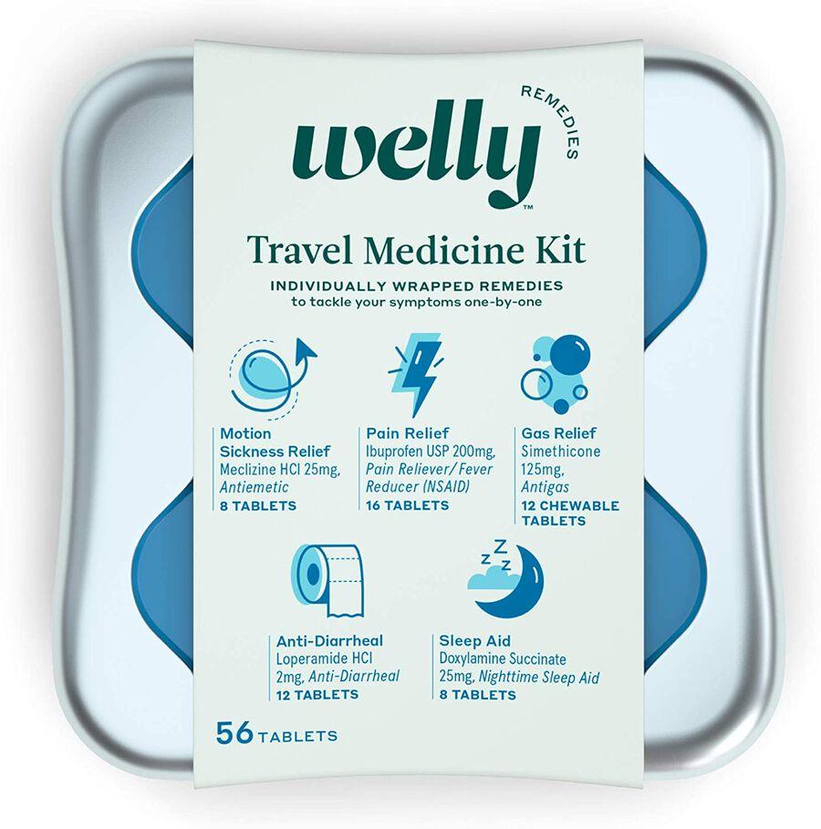 Welly Travel Medicine Kit - 42ct, , large image number 0