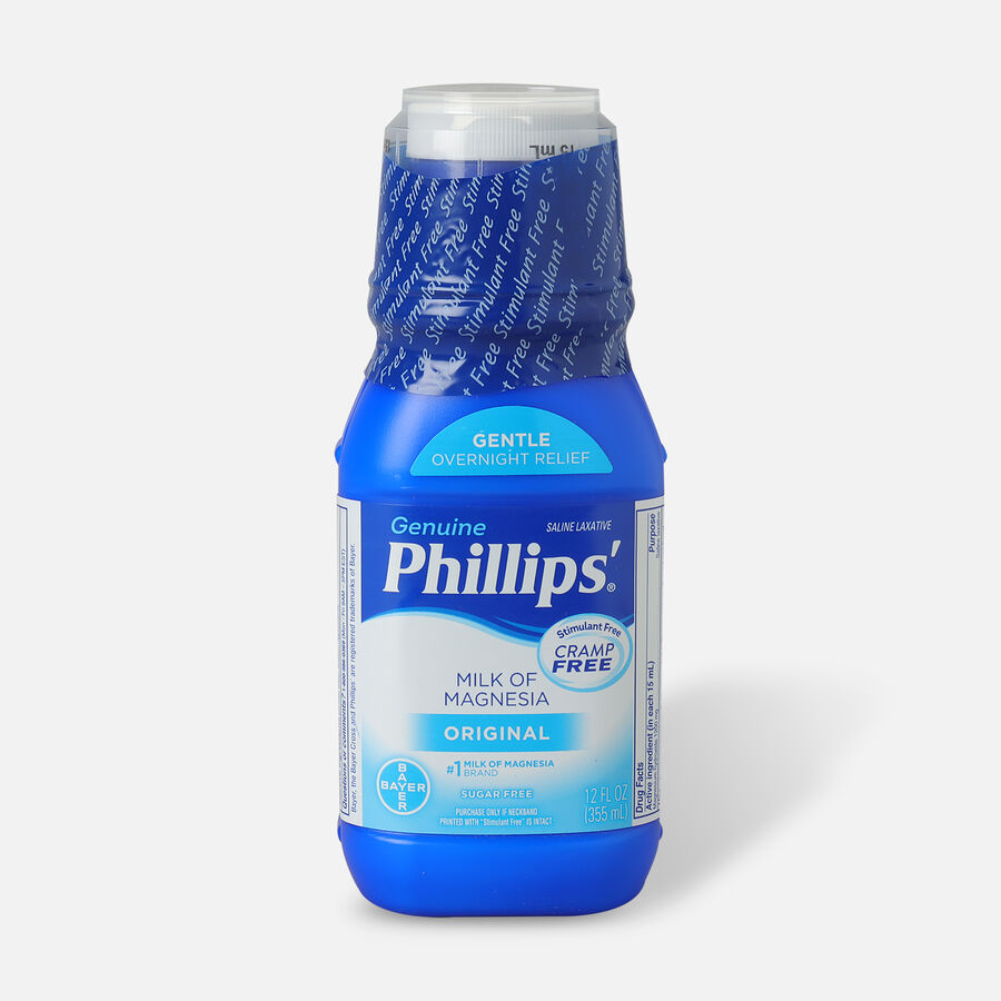 Phillips Milk of Magnesia, Original Flavor, 12 oz, , large image number 0
