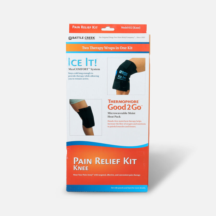 Battle Creek Knee Pain Kit with Moist Heat and Cold Therapy, , large image number 0