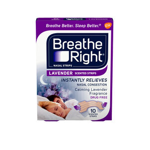 Breathe Right, Lavender Scented Strips
