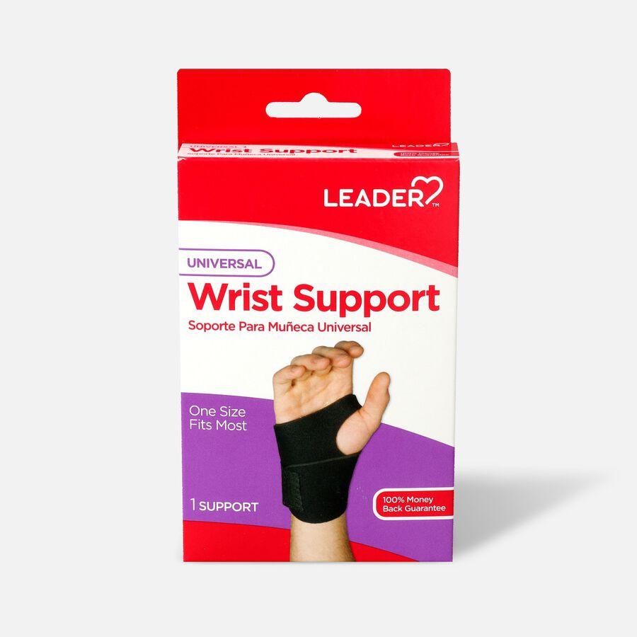 Leader Neoprene Wrist Support with Thumb Loop, OSFM, , large image number 0