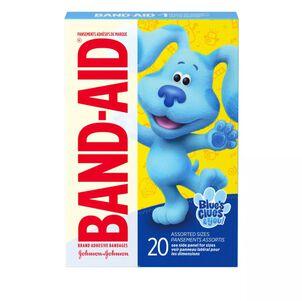 Band-Aid Blues Clues and You Adhesive Bandage, 20 ct