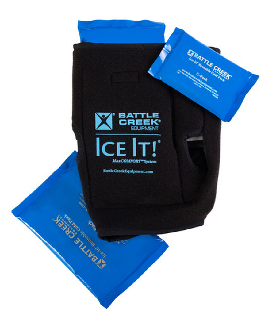"""Battle Creek Ice It! ColdCOMFORT Ankle/Elbow/Foot System 10.5"""" x 13"""", , large image number 2"""