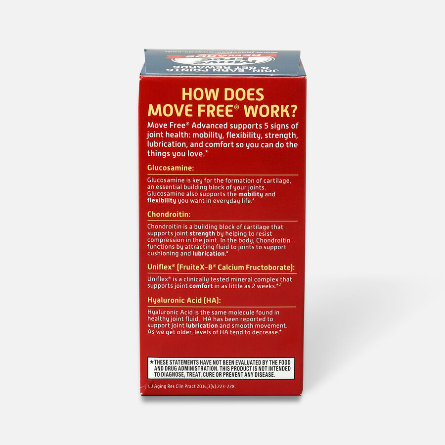 Schiff Move Free Advanced Joint Health Tablets, 80 Count, , large image number 1