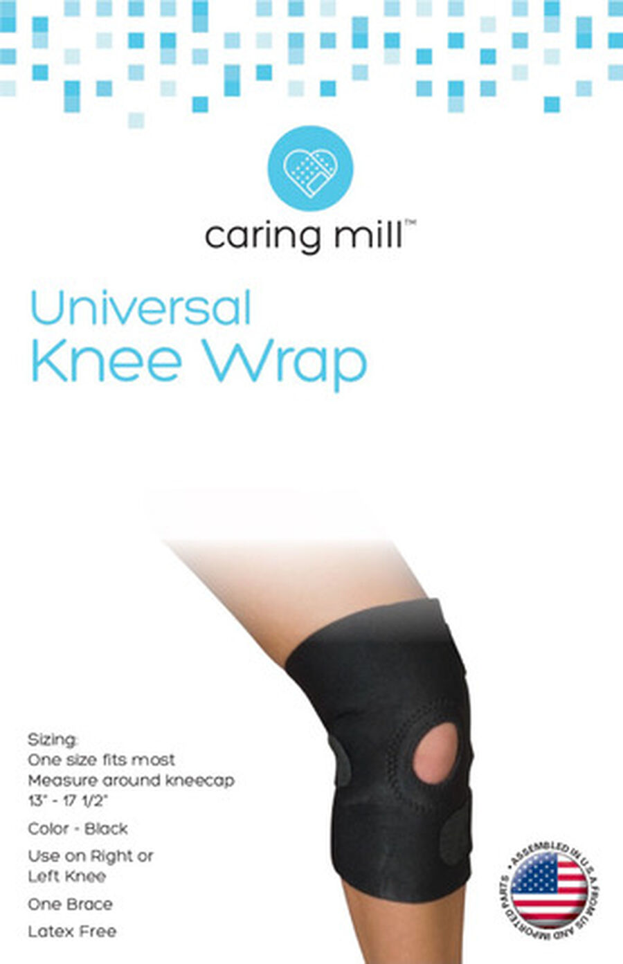 Caring Mill® Universal Knee Wrap, , large image number 0