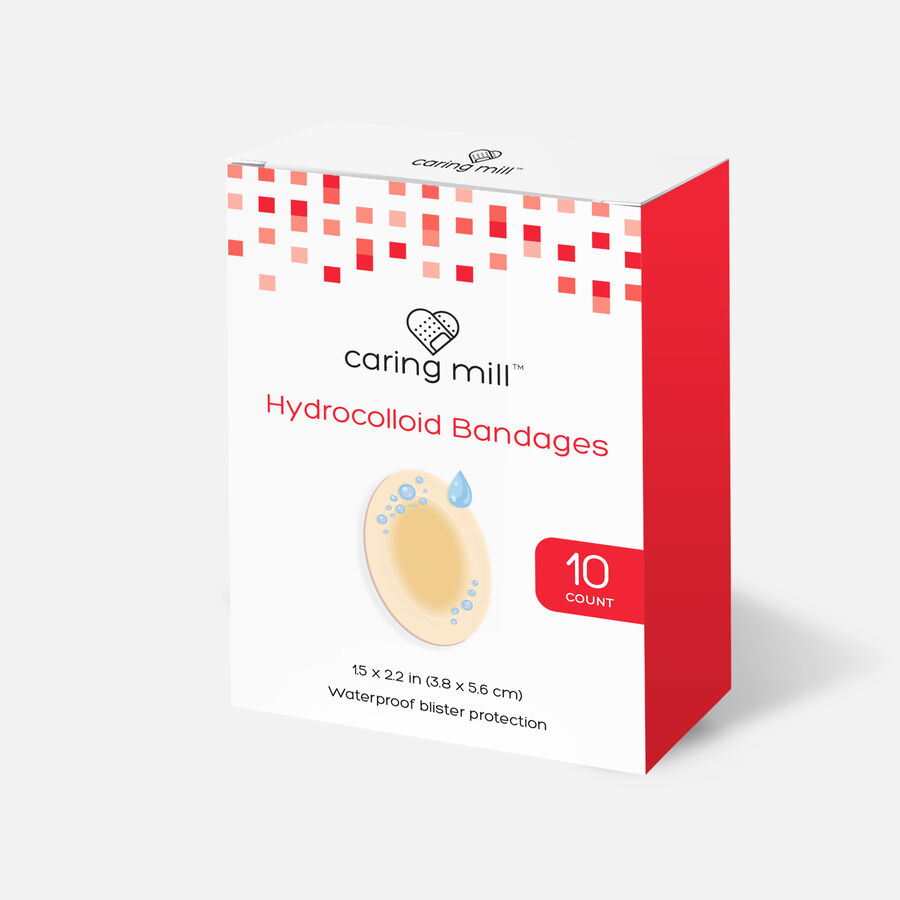 Caring Mill™ Hydrocolloid Bandages, , large image number 4