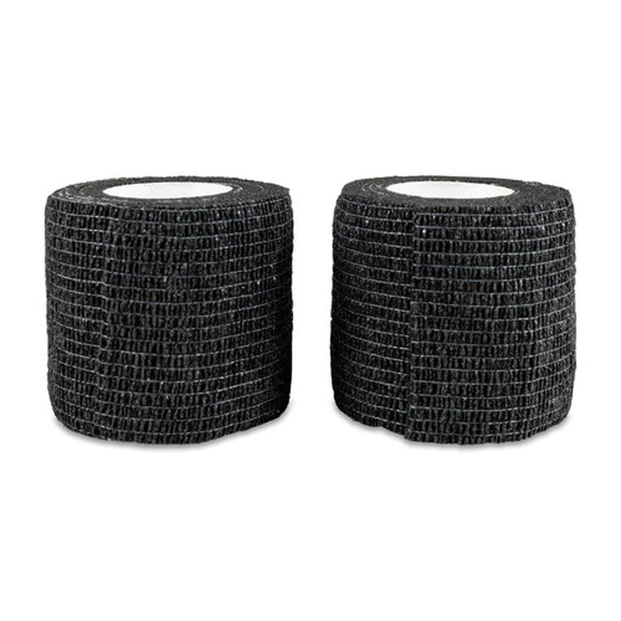 "Sensiv Self-Adhering Elastic Sports Tape, Black, 2"" x 15 ft, 2 ct, , large image number 1"