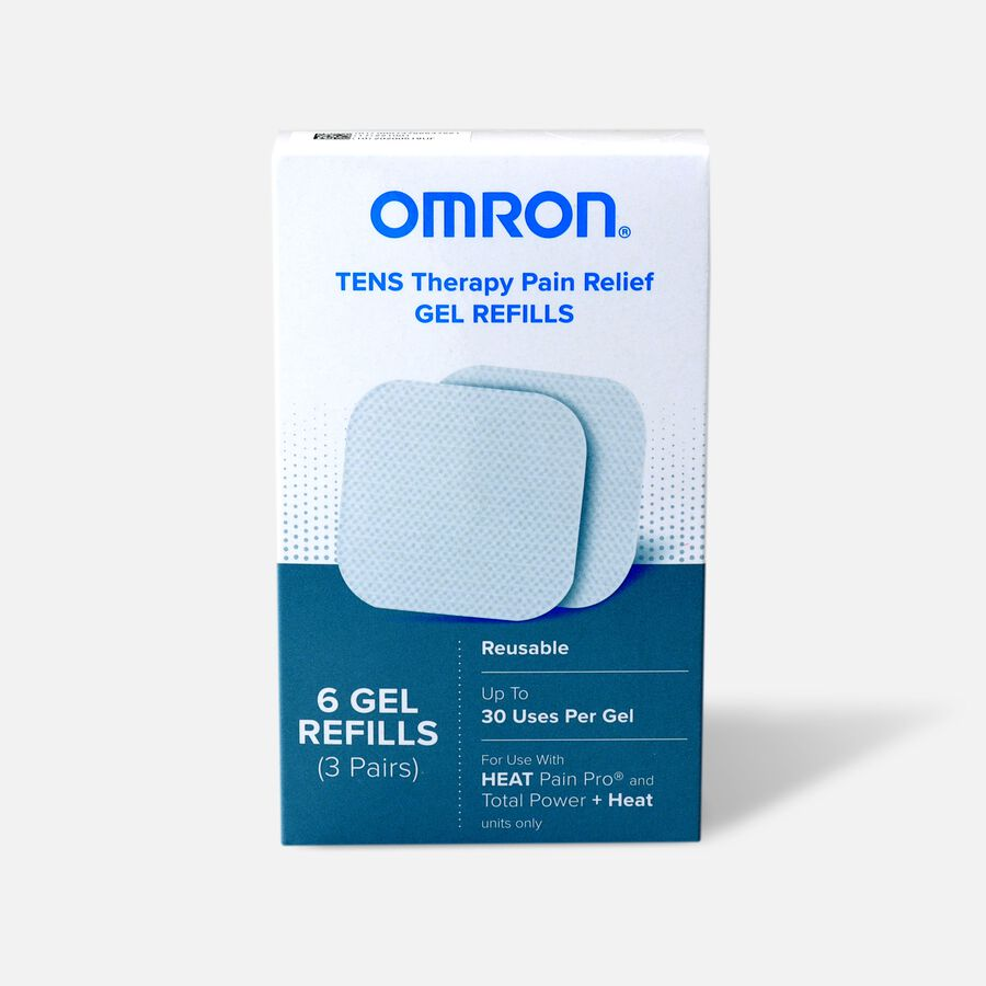Omron Heat Pain Pro Gel Refills, 6 Count, , large image number 0