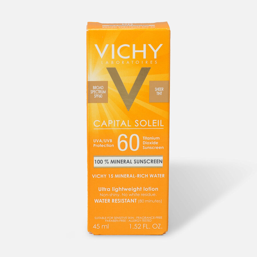 Vichy Cap Soleil Mineral Tinted SPF 60 45M, , large image number 0
