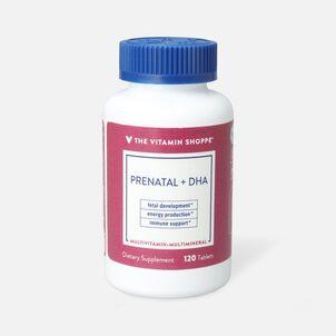 Vitamin Shoppe Prenatal + DHA Multivitamin Tablets For A Healthy Pregnancy, 120 ct