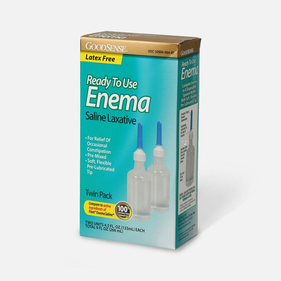 GoodSense® Ready To Use Enema Saline Laxative, 2 (4.5 fl oz units), , large image number 3