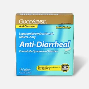 GoodSense® Loperamide HCl 2 mg Anti-Diarrheal Tablets, 12 ct