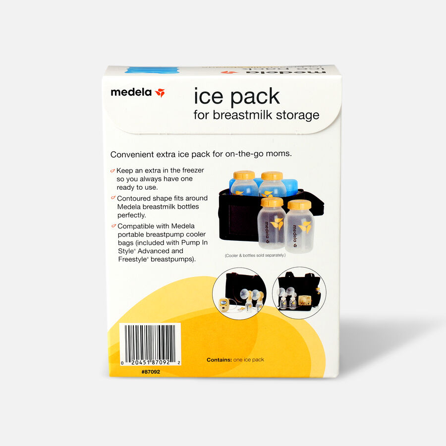 Medela Ice Pack for Freestyle® and Pump In Style® Advanced Breast Pump Coolers , , large image number 1