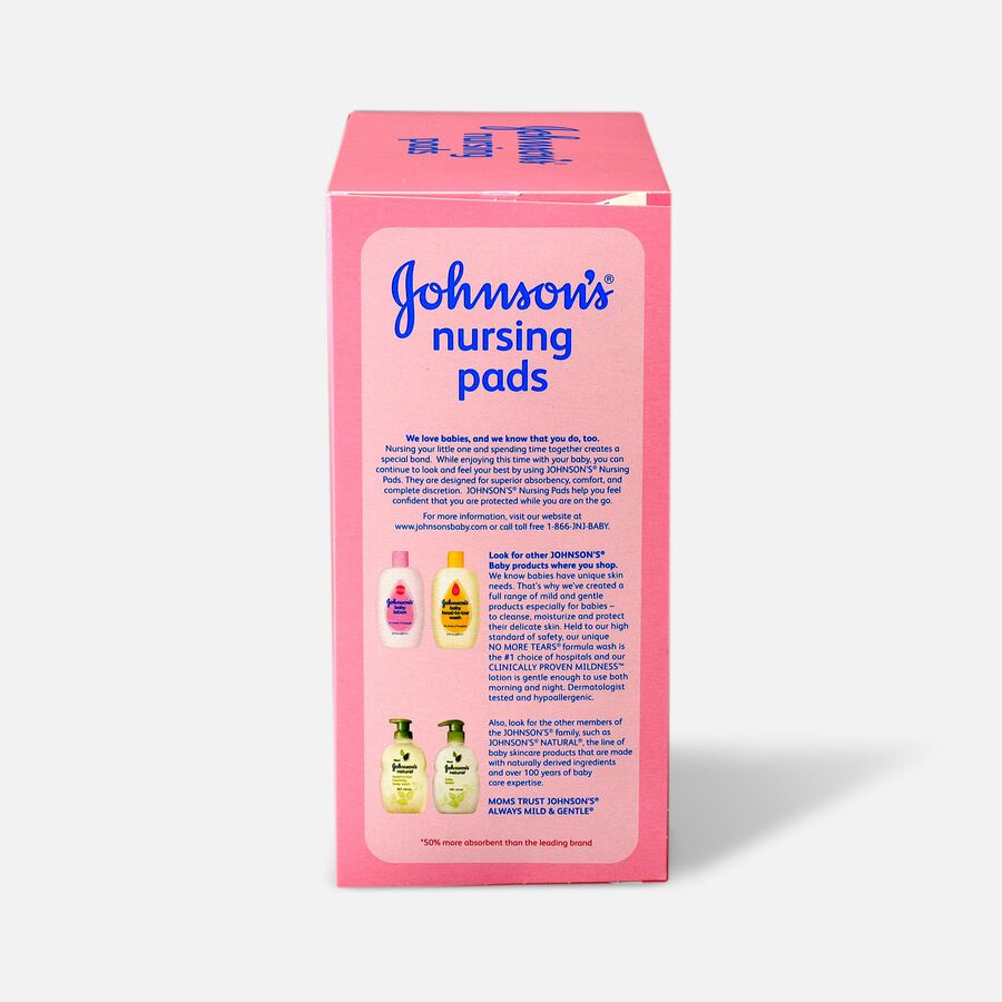 Johnson's® Nursing Pads 60 Count, , large image number 2