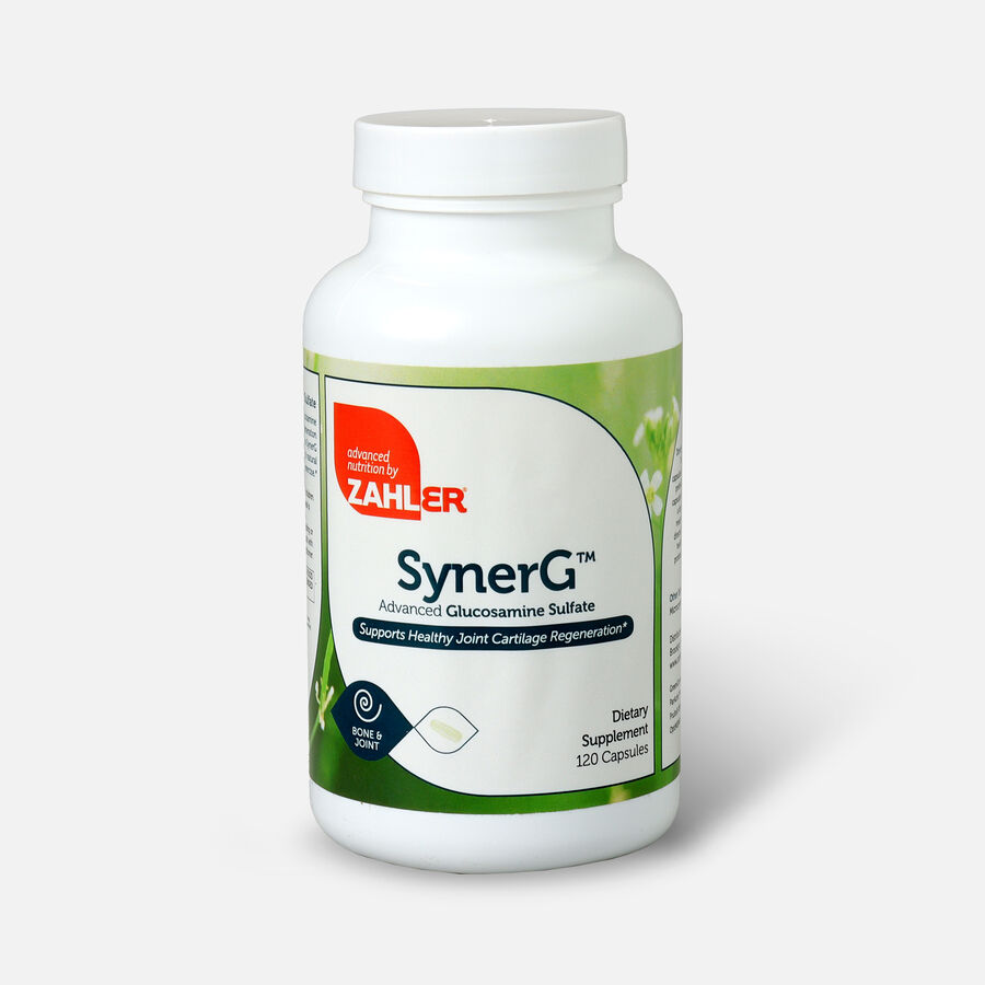 Zahler SynerG, Advanced Glucosamine Sulfate with MSM, 120 Capsules, , large image number 0