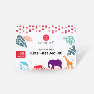 Caring Mill® Kid's First Aid Kit 125pc