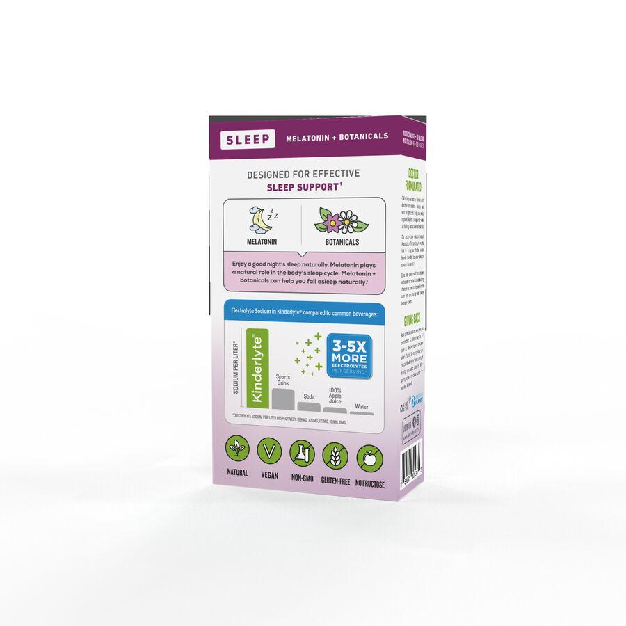 Kinderlyte Herbal Sleep Supplement Powder Wild Berry Lavender, 6 Count, , large image number 3