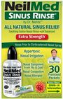 Sinus Rinse Hypertonic Kit With 30 Premixed Packets, , large image number 1
