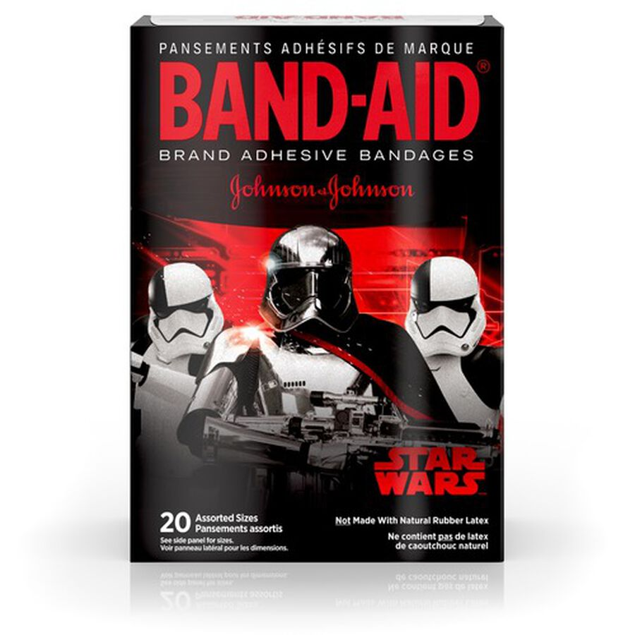 Band-Aid Adhesive Bandages, Star Wars, Assorted Sizes, 20 ct., , large image number 2
