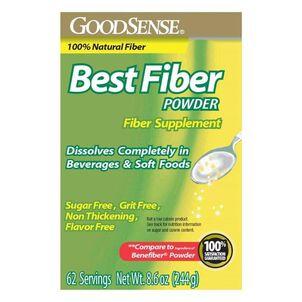 GoodSense® Best Fiber Powder Sugar/ Flavor Free 62 Servings, 8.6 oz