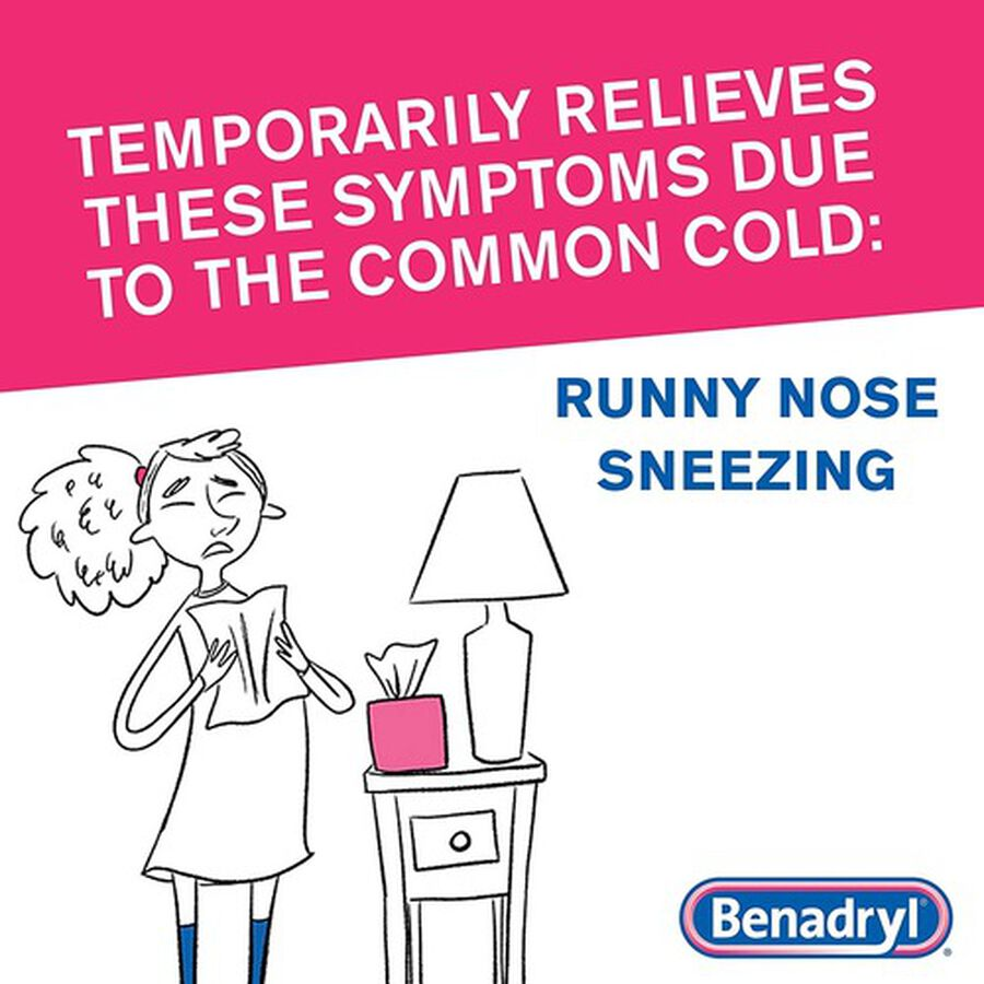 Benadryl Ultra Allergy Relief Tablets, 48 ct, , large image number 5