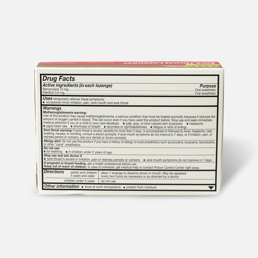 GoodSense® Sore Throat Lozenge 18 Count, Cherry, , large image number 1