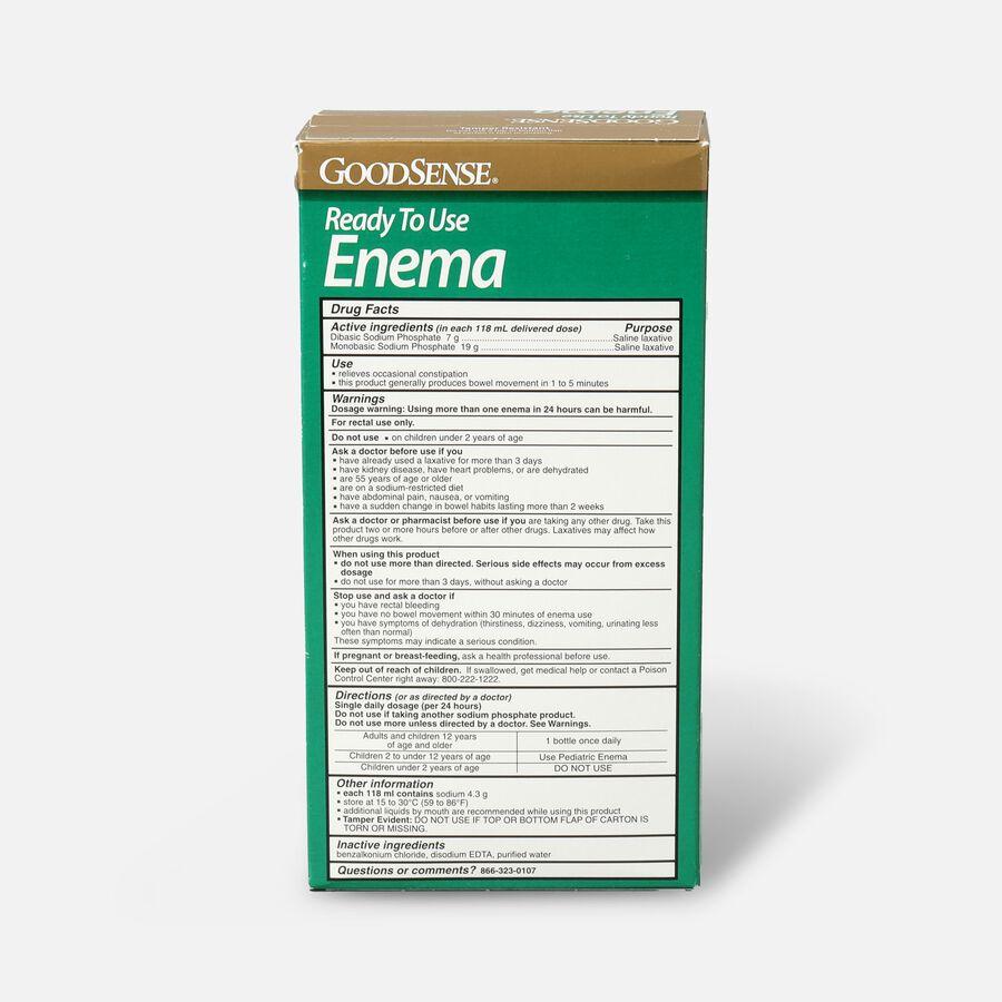 GoodSense® Ready To Use Enema Saline Laxative, 2 (4.5 fl oz units), , large image number 1