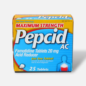 Maximum Strength PEPCID AC Tablets, 25 Count