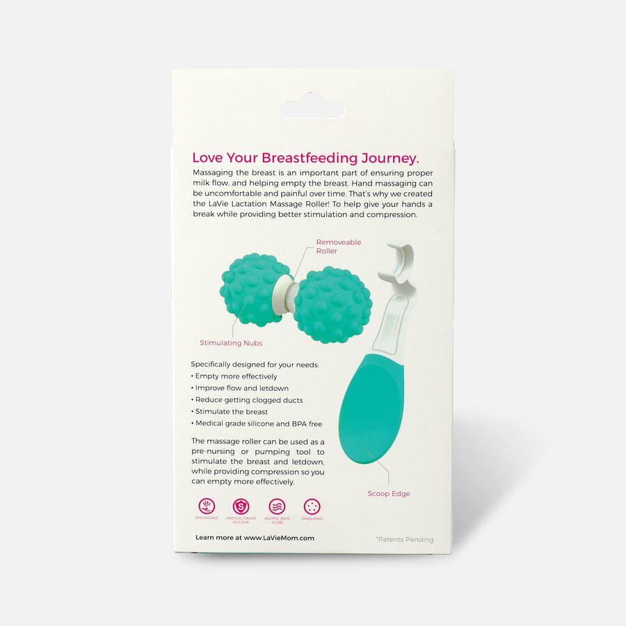 LaVie Lactation Massage Roller, Teal, , large image number 1