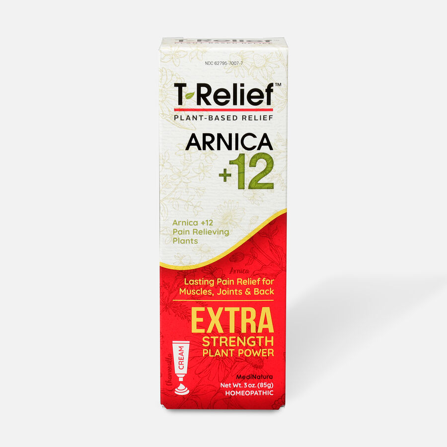 T-Relief Extra Strength Pain Cream, 3 oz, , large image number 0