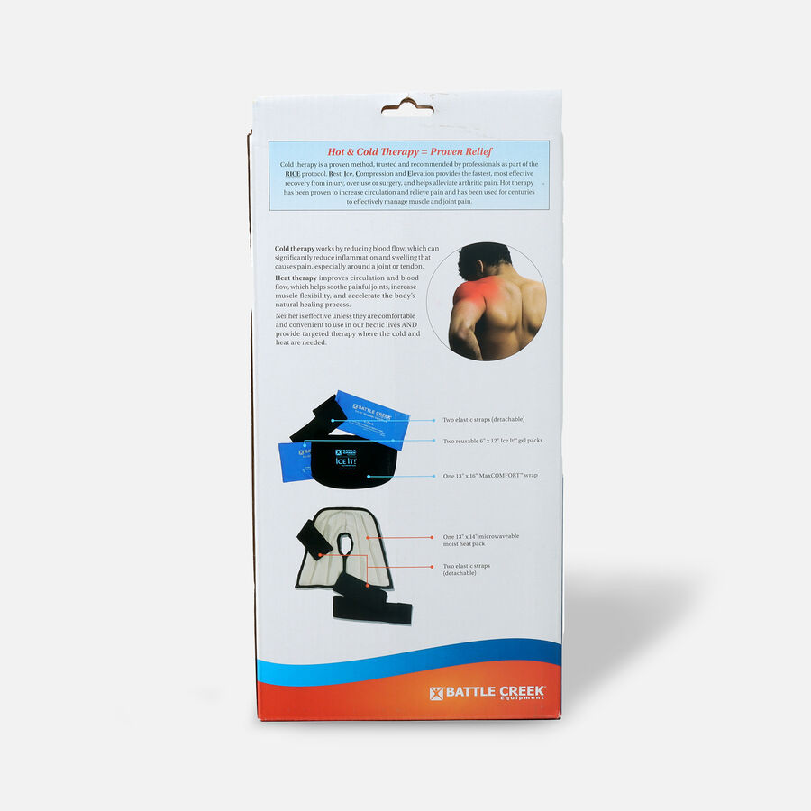 Battle Creek Shoulder Pain Kit with Moist Heat and Cold Therapy, , large image number 1