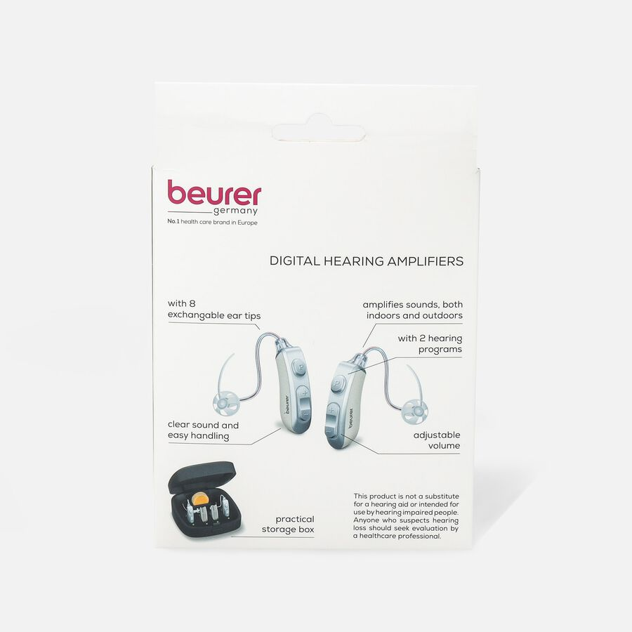 Beurer Rechargeable Digital Hearing Amplifier, HA85, , large image number 2