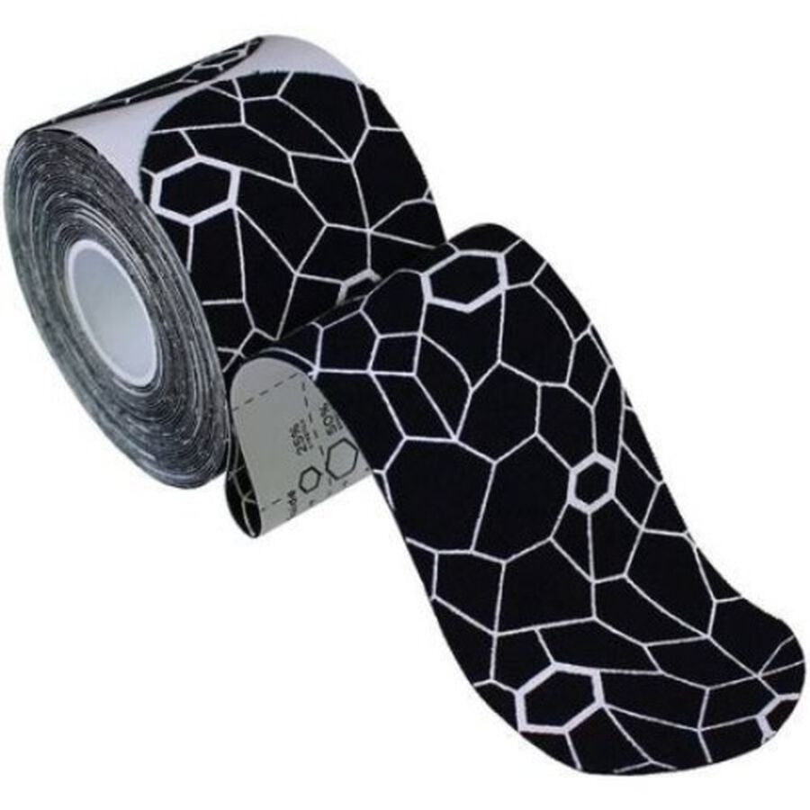 Theraband® Kinesiology Tape Precut Roll Black/White, 20 ct, Black/White, large image number 2
